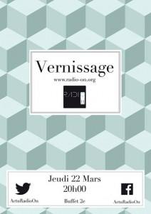 22 Mars 2014 Vernissage